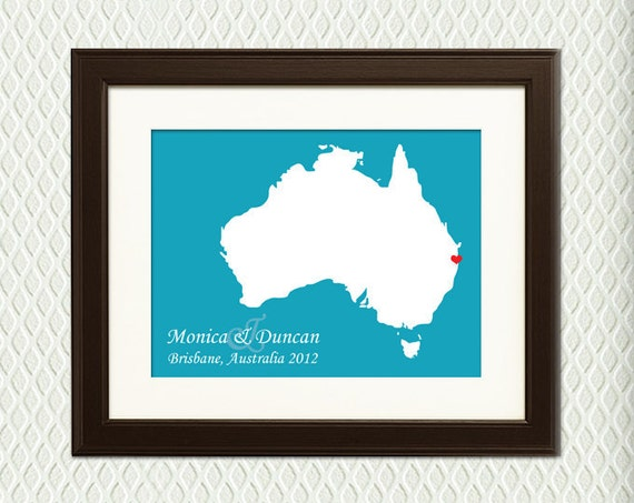 Unique Wedding Gifts Brisbane : BRISBANE, AUSTRALIA WEDDING - Personalized Wedding Gift for an ...