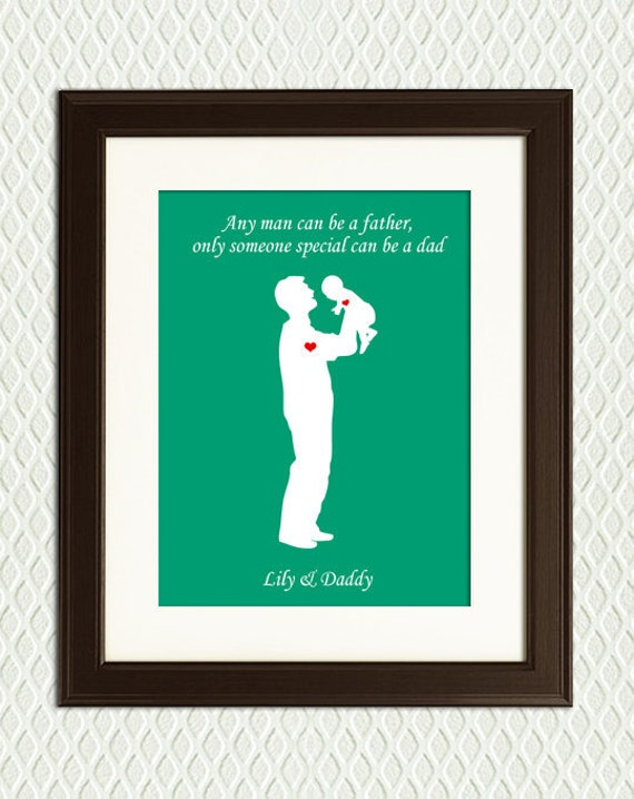 Personalized FATHER'S DAY GIFT - Gift for a dad or a grandfather.