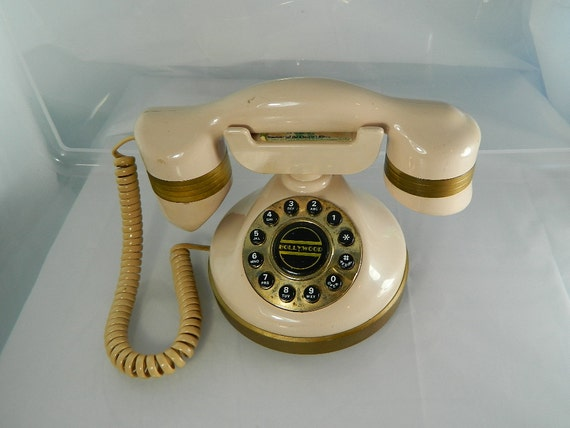 Retro Hollywood Telephone (it works)