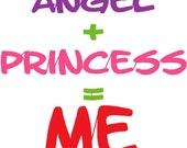 Angel  Princess  Embroidery Design