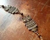 Golden Owl Bracelet