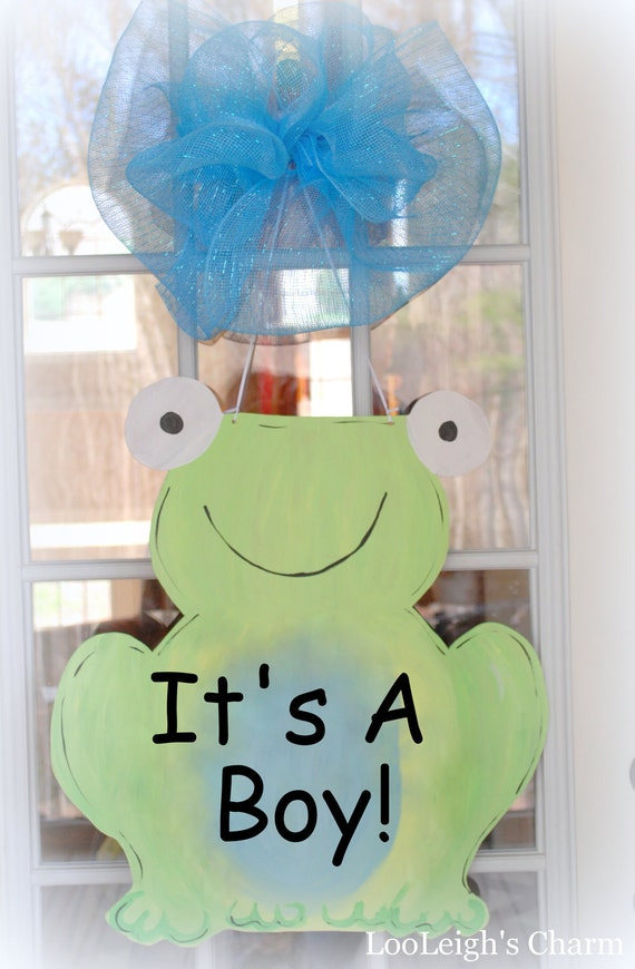Baby hospital door decoration baby door hanger baby for Baby hospital door decoration
