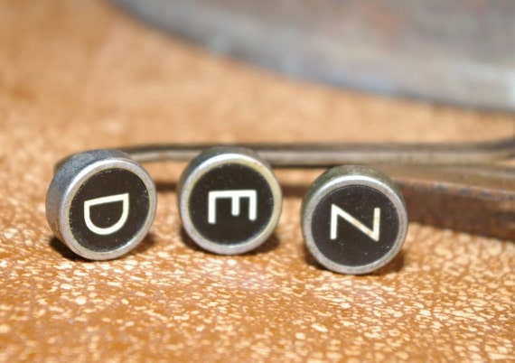 Your choice of Three Remington Noiseless Typewriter Keys with or without linkage from  a 1930s Manual Typewriter