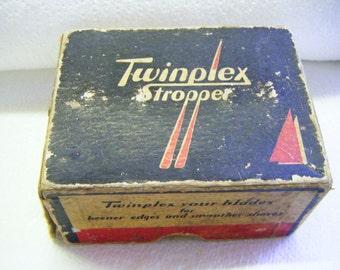 1940's Twinplex Stropper Model G-100 in Original Box gor Gillette and Probak-type Blades