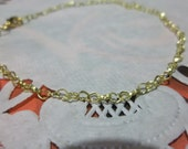 Delicate Heart Chain Bracelet