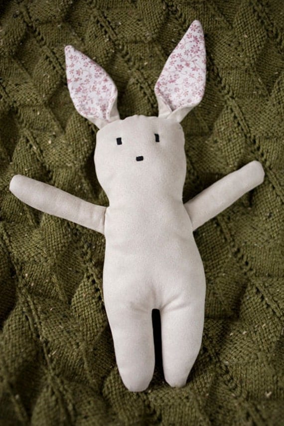 Bella Bunny, made with the softest recycled fabrics. Suitable for newborns.