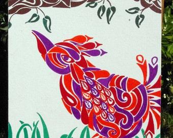 Flock of Birds No. 2 (14x18)