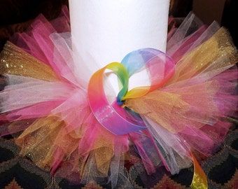 CUSTOM Tutu party skirt for all ages.  Size newborn through adult.  Custom tutus ARE available - pink, blue, green, white, up to 4 colors