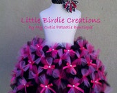 "Sweet Lolita  Tutu.""CLEARANCE"" Hot Pink and Black. Size 2T/ 3T. Birthdays, pageants, weddings, photography prop. --Ready to Ship--"