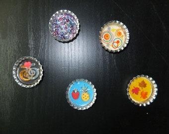 Neodymium bottlecap magnets
