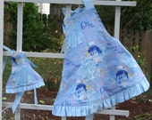 Cinderella Apron Set for Child and Doll