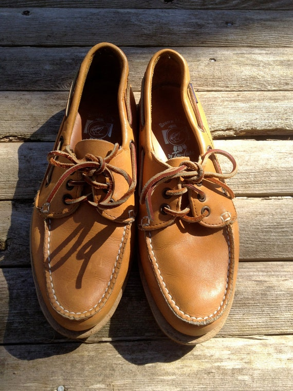 Vintage Quoddy Sioux Mox Boat Shoes