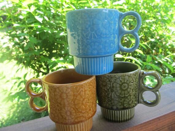 Vintage Coffee Mugs (3)