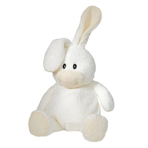 Adorable Soft Plush Bunny Custom Embroidered Monogram