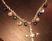Cross and beads