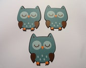 Cricut Die Cut Owls