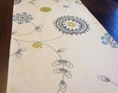 Suzani Table Runner: Natural Summerland Printed