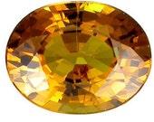 Mali Garnet Orange Color 7.6 x 6.1 MM Oval Shape Loose Gemstones 1.40 Carat