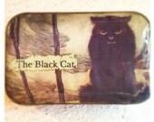 Altered Altoids Tin - EDGAR ALLAN POE - The Black Cat