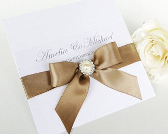 Wedding Invitation - The 'Melissa'