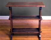 1910 Roycroft Little Journeys Stand, Mahogany, Arts & Crafts Furniture