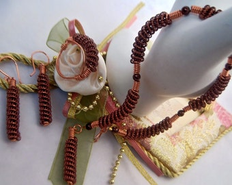 Wire Coiled Assorted Bracelets Sets