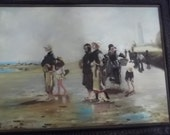 Fine Art Sale Dutch Masters Oil on Canvas Thanksgiving, Black Friday, Cyber Monday, Christmas
