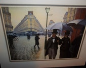 Paris Streets Rainy Days  1876  by Gustave Caillebotte  French 1800's  Thanksgiving, Black Friday, Cyber Monday, Christmas