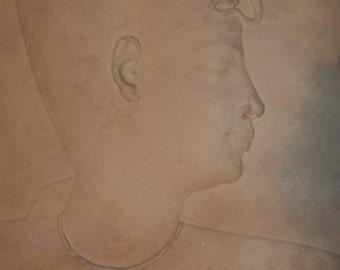 Egyptian King, XXVI Dynasty (663-526 BC) Reproduction Studio Art Thanksgiving, Black Friday, Cyber Monday, Christmas