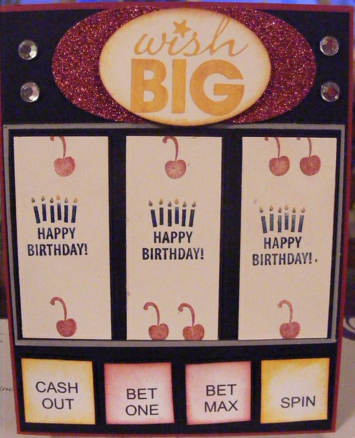Birthday Slot Machine