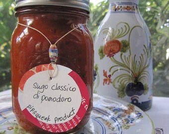SUGO CLASSICO  di POMODORO - The classic Italian red pasta sauce -16 oz. jar
