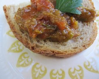 ZAALOUK- Roasted Aubergine Sauce-  16  oz. jars