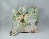 Scrapbook Mini Album, Photo Album, Memory Book, Photo Book - Prima Fairy Belle