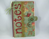 Scrapbook Altered Note Book, Altered Journal, Diary, Sketchbook on Etsy