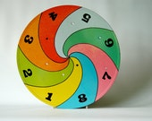 Spinning Wheel of Numbers