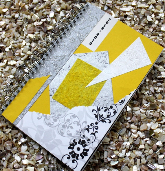 2012 2013 Day Planner Weekly Yellow Cover
