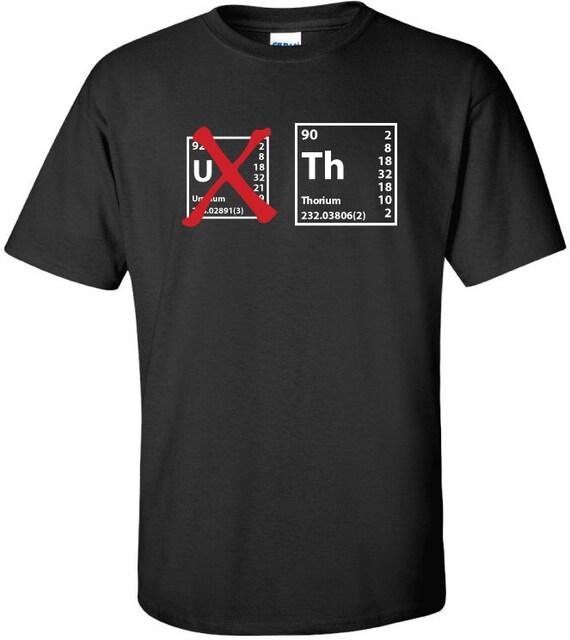 Thorium  Not Uranium  Elemental Symbol Periodic Table T-ShirtUranium Symbol Periodic Table