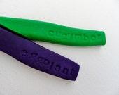 Eggplant & Cucumber Garden Markers