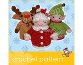 Christmas Friends 2 - Amigurumi crochet pattern