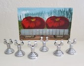 Display Stand Card Holders Stainless Steel for Miniature Art or Photos or Postcards or ACEOs