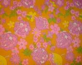 Vintage Floral Fabric