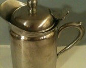 Coffee Carafe Serving Pitcher 24 oz Stainless Insulated- Brandware