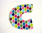 Letter Iron On Applique-- Choose Any Letter!