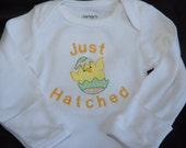 Just Hatched Easter Onesie/Bodysuit