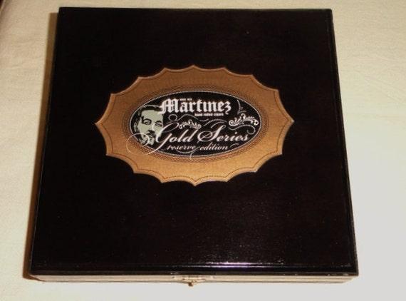 Cigar Box, Wood,  FREE SHIPPING, Holiday Craft Supplies