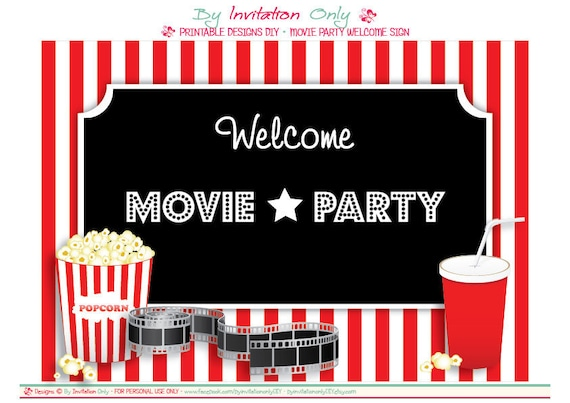 Movie Ticket Invitations – Movie Ticket Invitations Template
