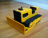 Vintage Metal Tonka T-6 Bulldozer from the 70's