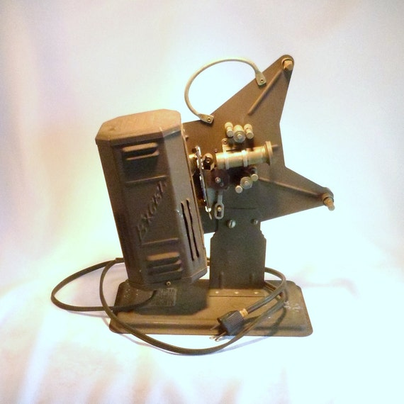 Vintage Excel 16mm Movie Projector from 1930 era