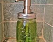 Mason Jar Soap Lotion Dispenser, 16oz Ball Mason Jar Soap Dispenser