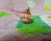 CLEARANCE SALE Cute Pig Polymer Clay Phone Charm